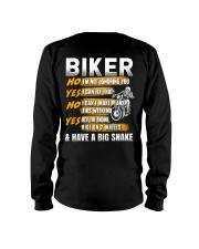 Biker Rev The Engine Ride On 2 Wheels Long Sleeve Tee thumbnail