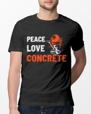 Peace Love Concrete Classic T-Shirt lifestyle-mens-crewneck-front-13