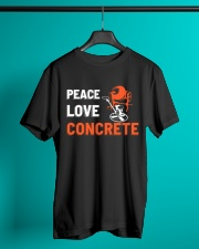 Peace Love Concrete Classic T-Shirt lifestyle-mens-crewneck-front-3