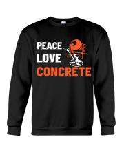 Peace Love Concrete Crewneck Sweatshirt thumbnail