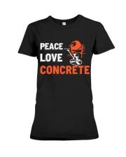 Peace Love Concrete Premium Fit Ladies Tee thumbnail