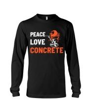 Peace Love Concrete Long Sleeve Tee thumbnail