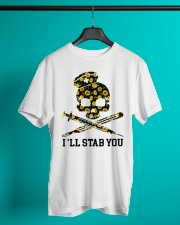 Nurse - I'll Stab You Classic T-Shirt lifestyle-mens-crewneck-front-3
