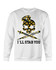 Nurse - I'll Stab You Crewneck Sweatshirt thumbnail