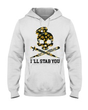 Nurse - I'll Stab You Hooded Sweatshirt thumbnail