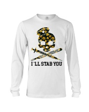 Nurse - I'll Stab You Long Sleeve Tee thumbnail