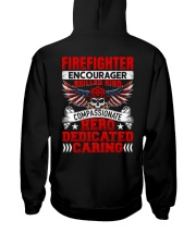 Firefighter encourager skilled kind compassionate Hooded Sweatshirt thumbnail