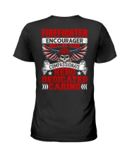Firefighter encourager skilled kind compassionate Ladies T-Shirt thumbnail