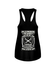 Plumber Hardest Part Ladies Flowy Tank thumbnail