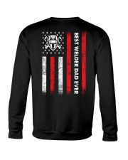 Best Welder Dad Ever Crewneck Sweatshirt thumbnail