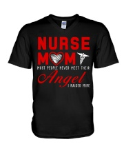 Nurse Mom Most People Never Meet Their Angel V-Neck T-Shirt thumbnail