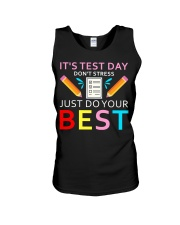 It's Test Day Don't Stress Just Do Your Best Unisex Tank thumbnail