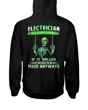Electrician It Needed To Be Fixed Anyways Hooded Sweatshirt thumbnail