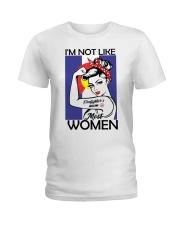 I'm Not Like Firefighter's Mom Most Women Ladies T-Shirt thumbnail