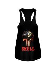 Skull Cool Ladies Flowy Tank thumbnail