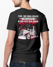 Fear This Road Reaper In Your Rear View Mirror Classic T-Shirt lifestyle-mens-crewneck-back-5