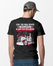 Fear This Road Reaper In Your Rear View Mirror Classic T-Shirt lifestyle-mens-crewneck-back-6