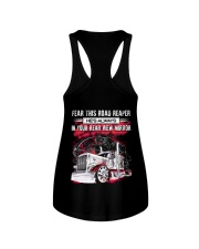 Fear This Road Reaper In Your Rear View Mirror Ladies Flowy Tank thumbnail
