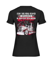 Fear This Road Reaper In Your Rear View Mirror Premium Fit Ladies Tee thumbnail