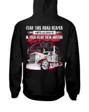 Fear This Road Reaper In Your Rear View Mirror Hooded Sweatshirt thumbnail