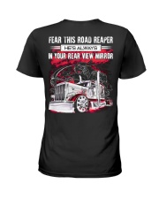 Fear This Road Reaper In Your Rear View Mirror Ladies T-Shirt thumbnail