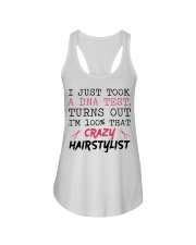 I Just Took A DNA Test - Crazy Hairstylist Ladies Flowy Tank thumbnail