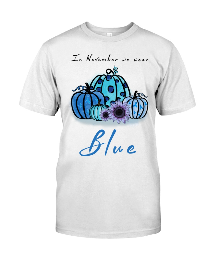 In November We Wear Blue Hairstylist Classic T-Shirt