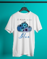In November We Wear Blue Hairstylist Classic T-Shirt lifestyle-mens-crewneck-front-3