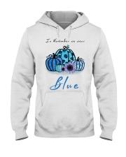 In November We Wear Blue Hairstylist Hooded Sweatshirt thumbnail