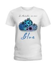In November We Wear Blue Hairstylist Ladies T-Shirt thumbnail