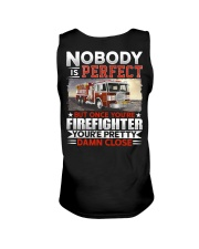 Nobody Is Perfect But Once You're Firefighter Unisex Tank thumbnail