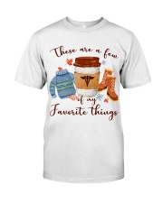Favorite Things Nurse Classic T-Shirt front