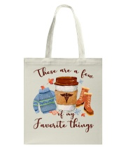 Favorite Things Nurse Tote Bag thumbnail