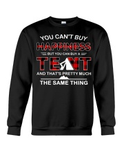 You Can't Buy Happiness But You Can Buy A Tent Crewneck Sweatshirt thumbnail
