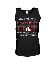 You Can't Buy Happiness But You Can Buy A Tent Unisex Tank thumbnail