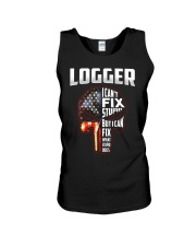 Logger I Can't Fix Stupid But I Can Fix Unisex Tank thumbnail