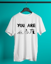 Teacher You Are A Cute Pie Classic T-Shirt lifestyle-mens-crewneck-front-3