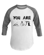 Teacher You Are A Cute Pie Baseball Tee thumbnail