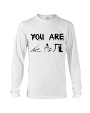 Teacher You Are A Cute Pie Long Sleeve Tee thumbnail