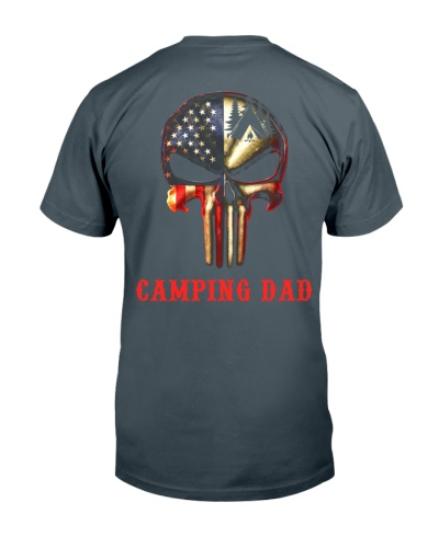 Camping Dad Skull