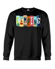 Love Camping Crewneck Sweatshirt thumbnail