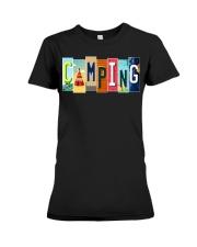 Love Camping Premium Fit Ladies Tee thumbnail