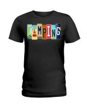 Love Camping Ladies T-Shirt thumbnail