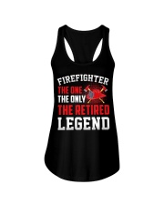 Firefighter The One The Only The Retired Legend Ladies Flowy Tank thumbnail