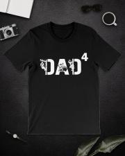 Lineman Dad 4 Hero Classic T-Shirt lifestyle-mens-crewneck-front-16