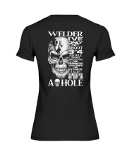 Welder I've Only Met About 3 Or 4 Premium Fit Ladies Tee thumbnail