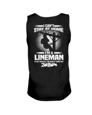 Lineman Can't Stay At Home Unisex Tank thumbnail
