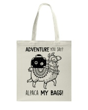 Adventure You Say Camping Tote Bag thumbnail