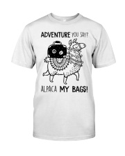Adventure You Say Camping Classic T-Shirt front