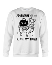 Adventure You Say Camping Crewneck Sweatshirt thumbnail